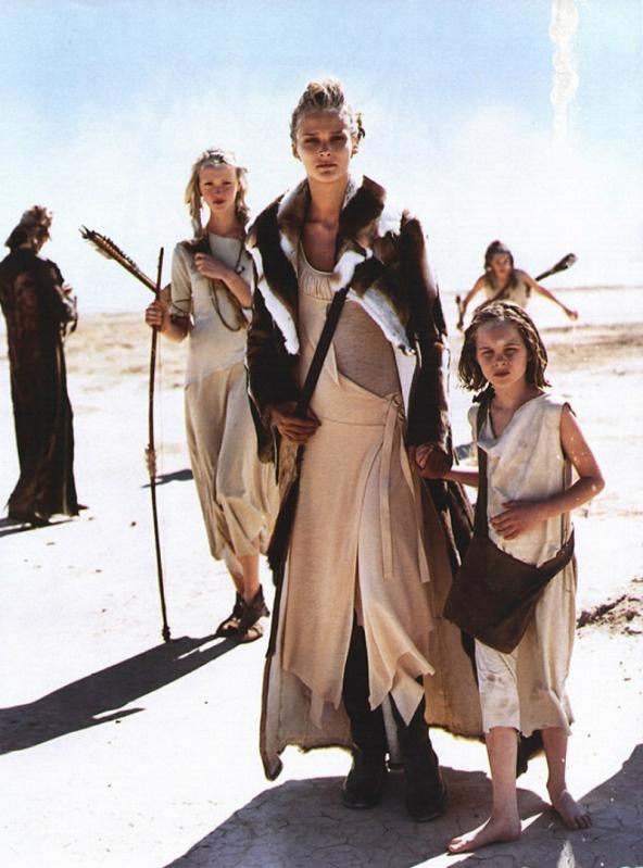 gypsy traveling family clothing