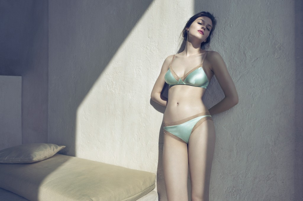 Amber Anderson for Eres SS 12 by Camilla Akrans