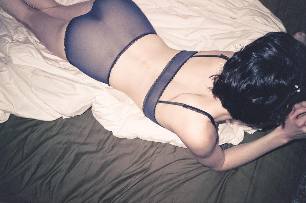 Rachel Rector lingerie