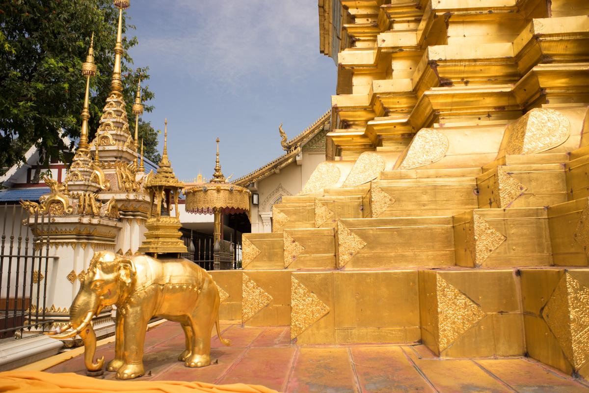 Wat Chomphu in Chiang Mai