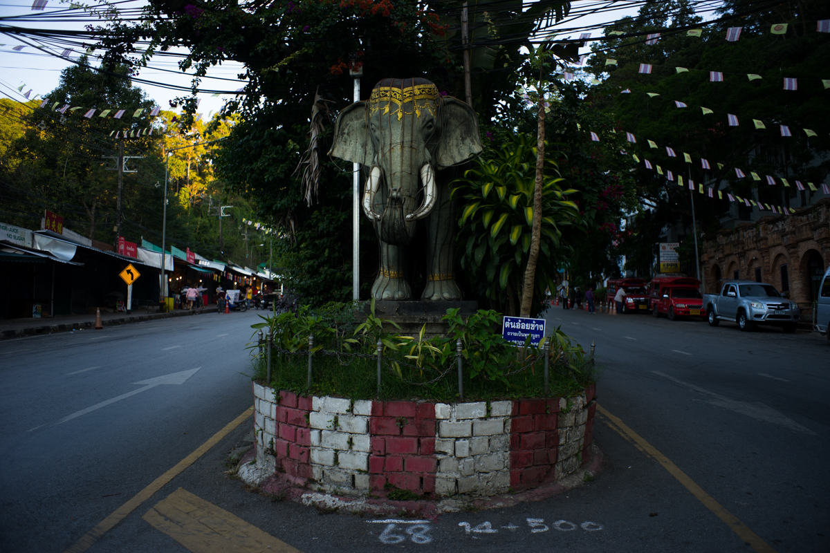 Entrance into Doi Suthep Chiang Mai Thailand