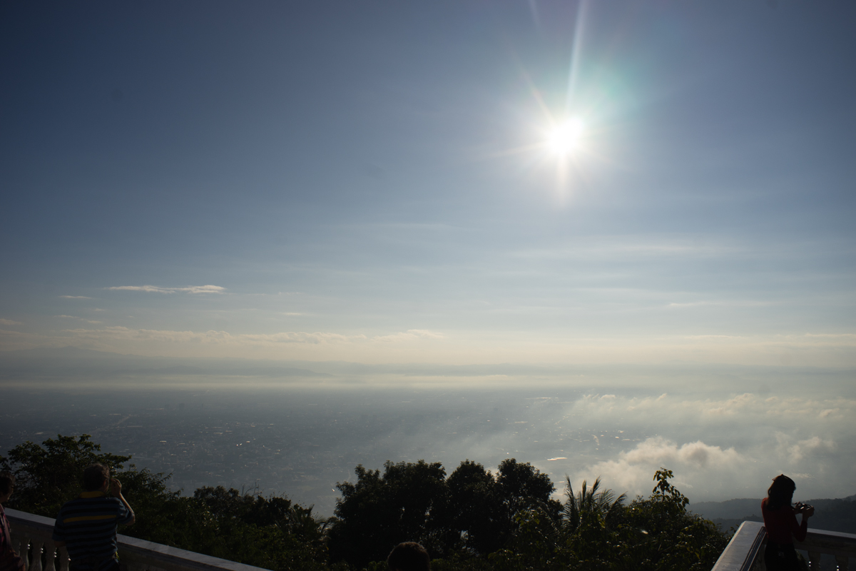 View from Doi Suthep, Chiang Mai, Thailand